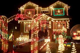 big outdoor lights decorations and