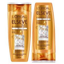 Excepcional L'Oréal Paris Elseve Óleo Extraordinário Cachos Kit - Shampoo +  &WC34