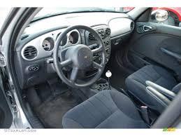Interior Pt Cruiser Dark Slate Gray Interior 2004 Chrysler Pt Cruiser Touring Photo
