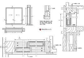 archweb porte porte scorrevoli e automatiche dwg