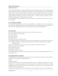 Data Warehouse Resume Sample by Informatica And Datawarehouse Material