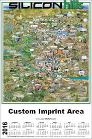 Map Of Ut Austin by Silicon Hills Map Austin Texas High Tech Silicon Maps