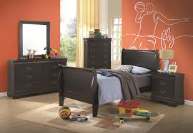 black sleigh bedroom set coaster louis philippe queen sleigh panel bed coaster fine furniture