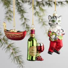 glass italy boxed ornaments 3 pack world market