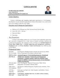 Career Objective For Resume Mechanical Engineer Mechanical Engineer Resume Objective Resume Template 2017