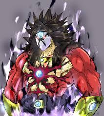 dark dragon ball power super saiyan 4 breaker broly