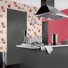 papier peint cuisine vinyle lessivable tea