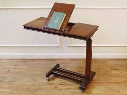 adjustable height c table antique victorian book stand reading bed table adjustable height