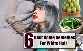 6 best home remedies for white hair natural treatments u0026 cure