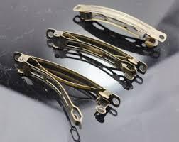 barrette hair clip 20pc antiqued bronze barrette hair clip findings metal hair