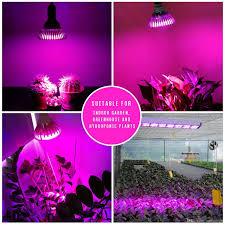 full spectrum led grow lights 7w 12w 24w 36w 54w e27 led grow lamp