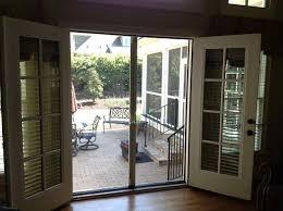 Screen Doors For Patio Doors Patio Doors With Screens Doors For Cool Weather