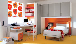 Red Bedroom For Boys Red Wardrobe Colors Also Level Bedding With White Frame And Tv