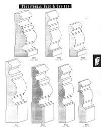 Door Trim Styles by Baseboard U0026 Door Casing Styles