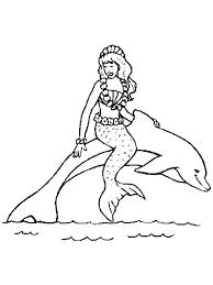 kids fun 29 coloring pages mermaid