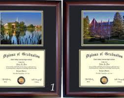 college diploma frames diploma frame etsy