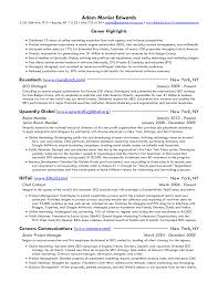 Sample Resume Objectives Property Management by Inspire Product Manager Resume Sample Featuring Career Highlights
