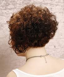 stacked perm short hair luxury short curly bob hairstyles back view with pictures of curly