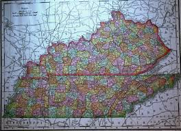 Tennessee Kentucky Map by Tennessee Maps