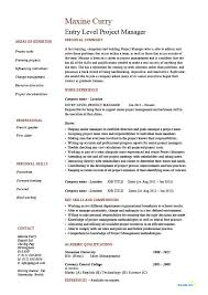 resume template entry level resume template entry level black and
