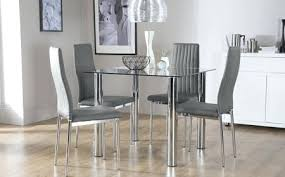 glass top dining table set 6 chairs round glass top dining table fabulous dining room sets glass top
