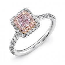 colored engagement rings pink diamond engagement rings engagement rings