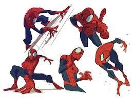 25 spiderman drawing ideas