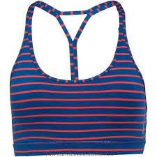 light purple sports bra reebok womens stripe yoga sports bra handy blue sportswear blue