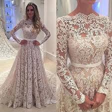 wedding dresses with sleeves glamorous a line bateau sleeves lace court wedding