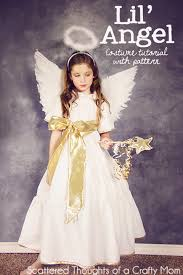 Angel Costumes Halloween Diy Angel Costume Tutorial Pattern Diy Angel Costume