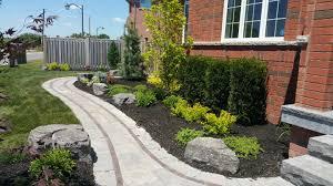 ajax landscape services backyard patios stone steps design