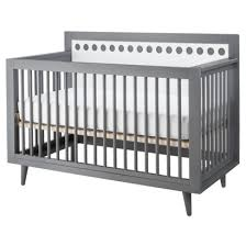 Target Convertible Cribs Stork Craft Bayshore 3 In 1 Convertible Crib Grey White Target