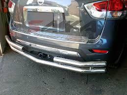 nissan rogue rear bumper protector saika enterprise u003cb u003e13 14 nissan pathfinder u003c b u003e stainless steel