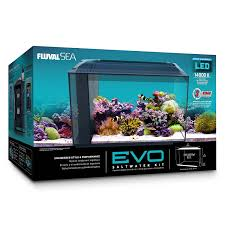 Fluval Sea Marine And Reef Led Strip Lights by Amazon Com Fluval 10531a1 Sea Evo Xii Aquarium Kit Pet Supplies