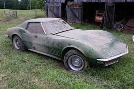 Barn Fresh Cars Kentucky Barn Find 1972 Chevrolet Corvette Stingray