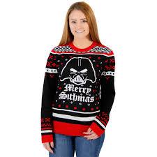 wars sweater wars darth vader merry sithmas sweater