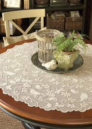 lace table toppers gallery of table