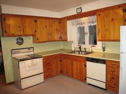 knotty pine kitchen cabinets knotty pine cabinets loccie better homes gardens ideas painting