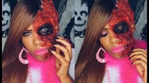halloween barbie doll burnt barbie doll halloween tutorial 2016 youtube