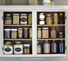 23 food cupboard organizer wood food storage container organizer