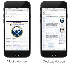 view desktop version a website in ios 9 safari
