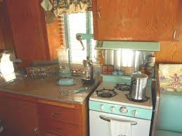 Retro Kitchen Accessories by 1962 Shasta Trailer With Seafoam Princess Gas Stove And Matching