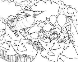 floating creatures trippy coloring pages batch coloring