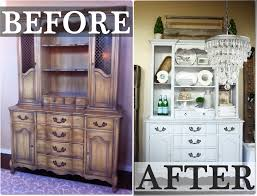 antique blind china cabinet before and after redesign painted