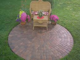 Patio Brick Pavers Decoration In Patio Paver Kits Exterior Decor Photos Circular