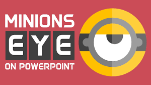create a minions eye in powerpoint flat icon design tutorial