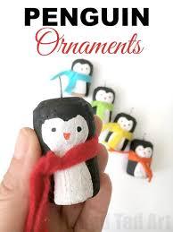 rainbow cork penguin ornaments ted s