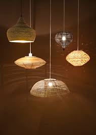 luminaire en carton suspension rotin ici leroy merlin suspensions pinterest