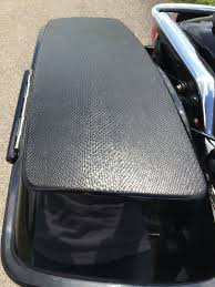 Harley Textured Black Paint - harley davidson hard bag lid paint protection black mamba snake