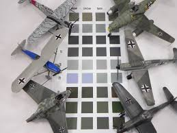 the new mission models paints luftwaffe rlm colors accurate and